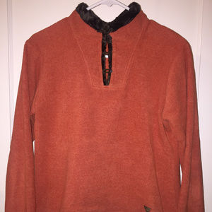 Wooly Bully Colorado Fleece Pull-over w/ Faux Fur